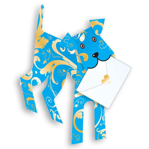 Binky Dog Pop Up Card - insideout-home