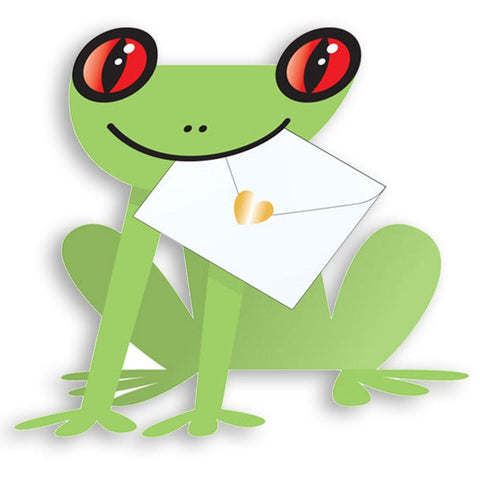 Paddy Frog Pop Up Card - insideout-home