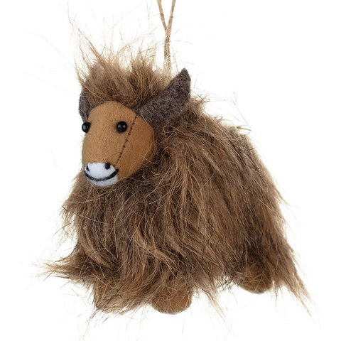 Highland Cow With Wreath - insideout-home