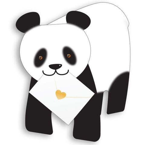 Bamboo Panda Pop Up Card - insideout-home