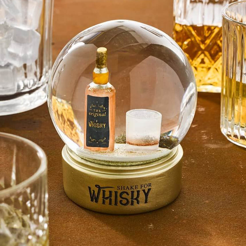 Whiskey Snow Globe - insideout-home