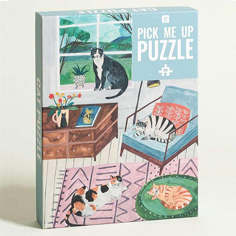 Pick Me Up Cat Jigsaw Puzzle 500 Piece - insideout-home