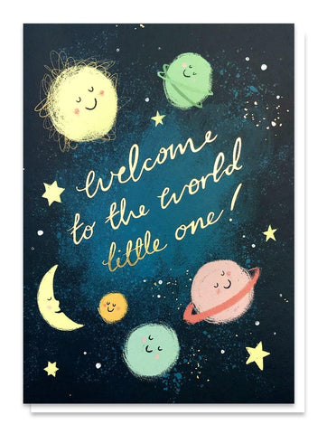 Welcome Little One Card - insideout-home