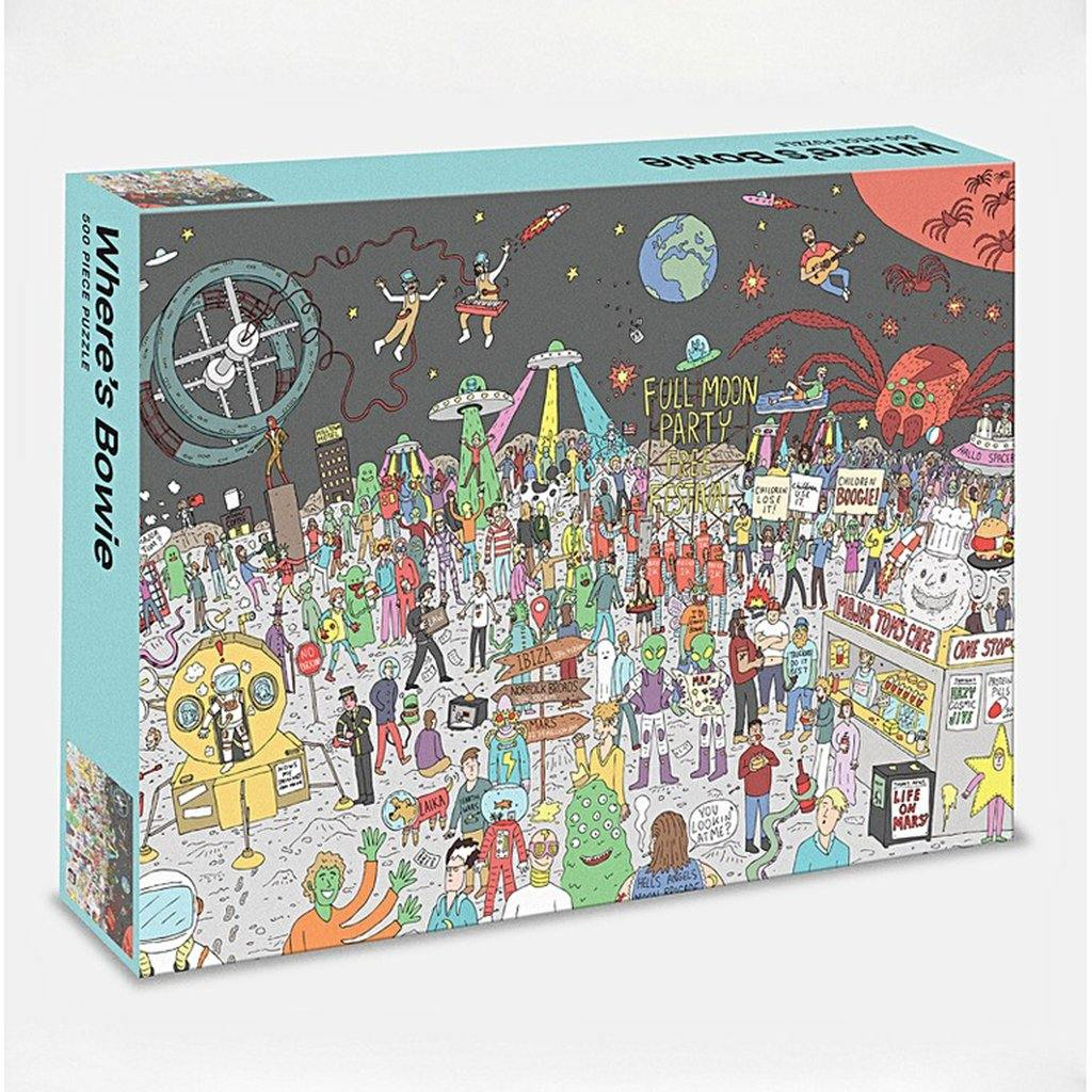Where's Bowie 500 Piece Jigsaw Puzzle, Toys & Games by Insideout
