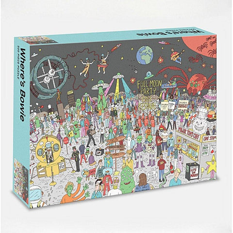 Where's Bowie 500 Piece Jigsaw Puzzle - insideout-home