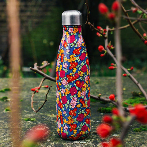 Chilly's Bottle Floral Wild Roses 500ml - insideout-home