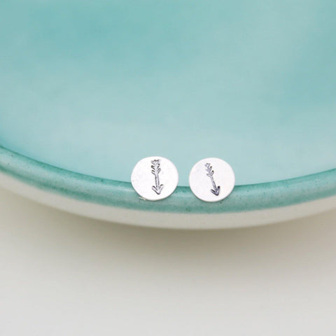 Sterling Silver Arrow Studs - insideout-home