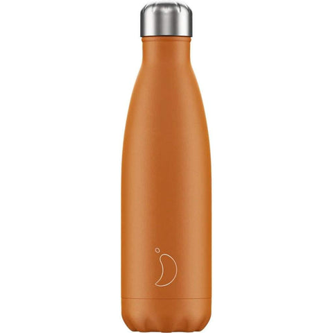 Chilly's Bottle Matte Orange 500ml - insideout-home