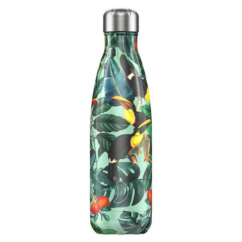 Chilly's Bottle Tropical Toucan  500ml - insideout-home