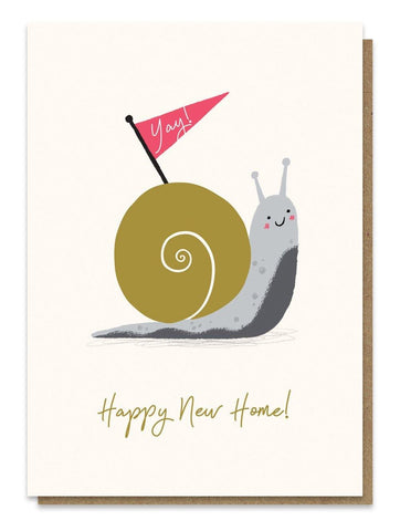 Snail House Card - insideout-home