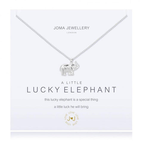 A Little Lucky Elephant Necklace - insideout-home