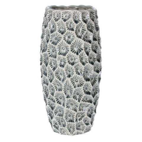Grey Crater Vase Small - insideout-home