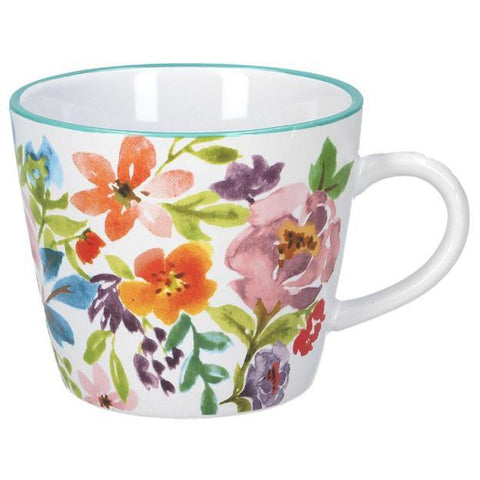 Bright Peonies Ceramic Mug - insideout-home