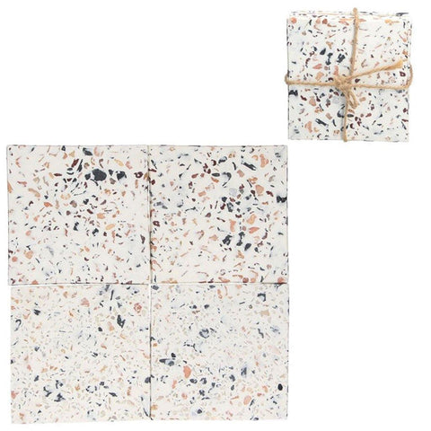 Set of 4 Terrazzo Coasters - insideout-home