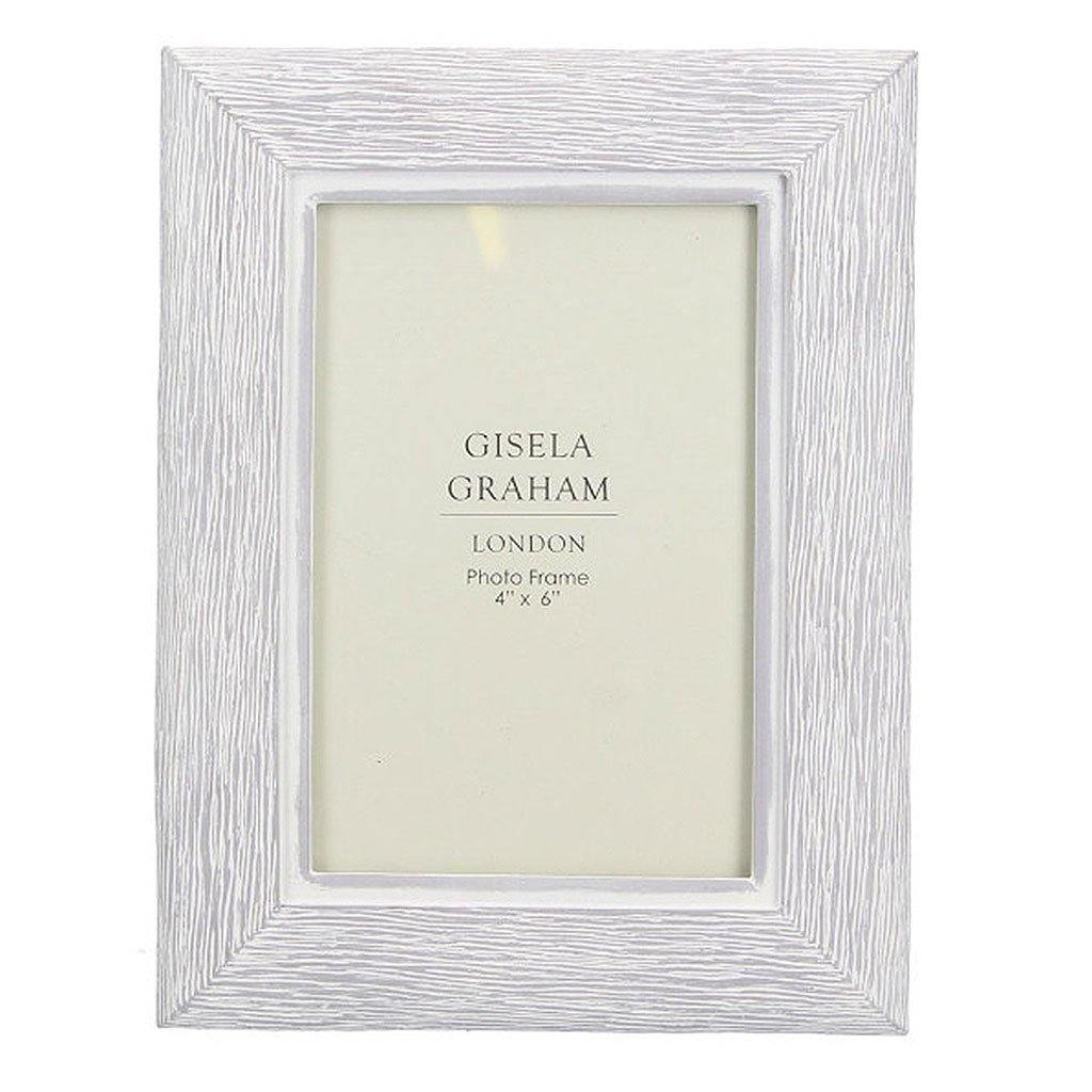 White Washed Wood Effect Resin Picture Frame 4