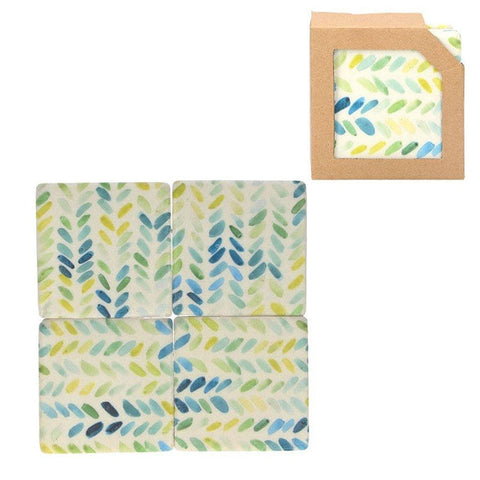 Set of 4 Chevron Coasters - insideout-home