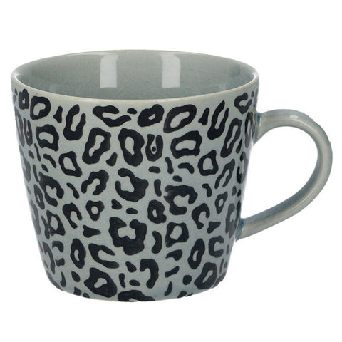 Grey Animal Print Mug - insideout-home