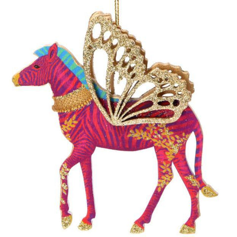 Flying Zebra Decoration - insideout-home
