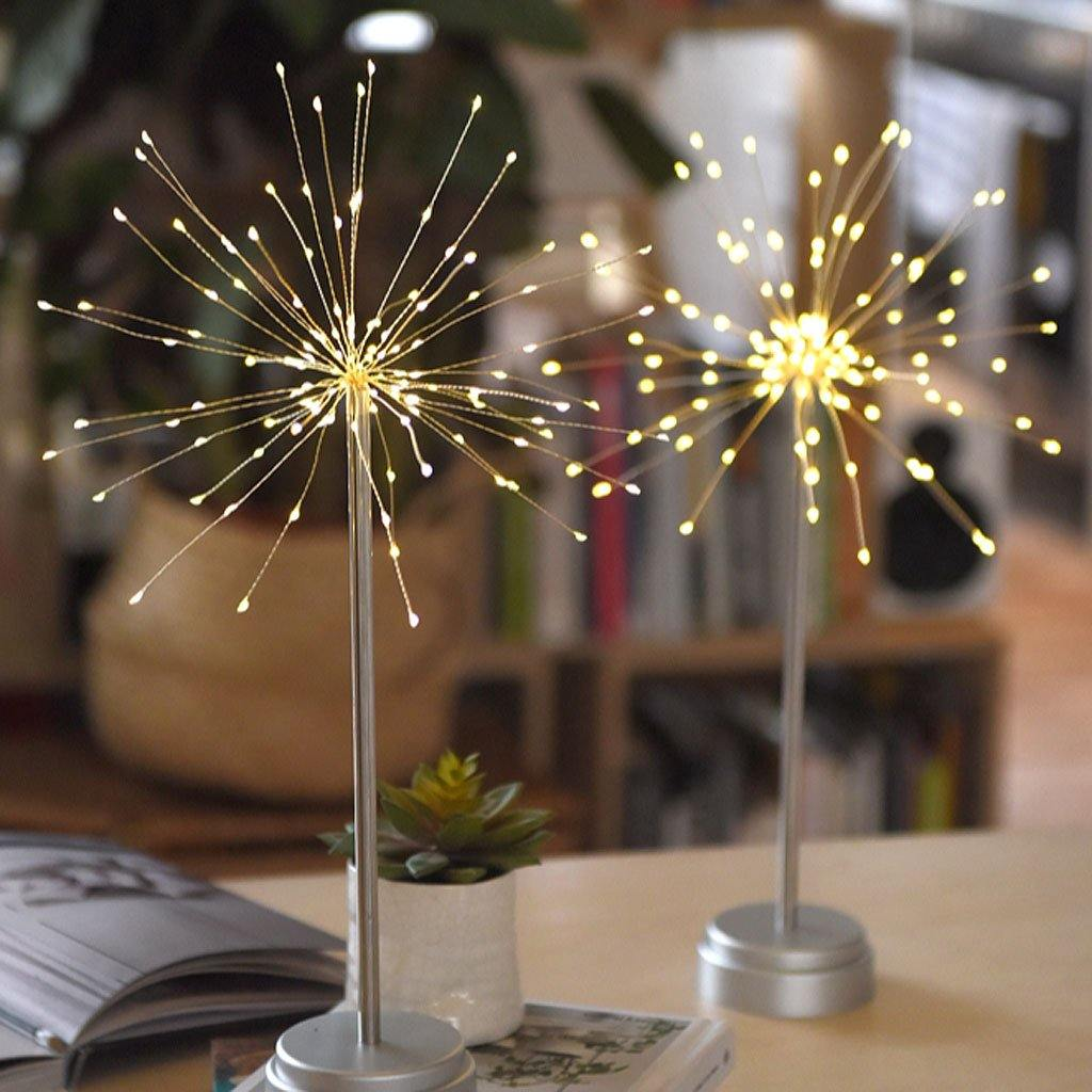 Table Starburst Silver 30cm, Lighting by Insideout