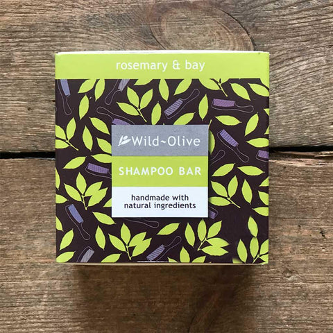 Rosemary & Bay Shampoo Bar - insideout-home