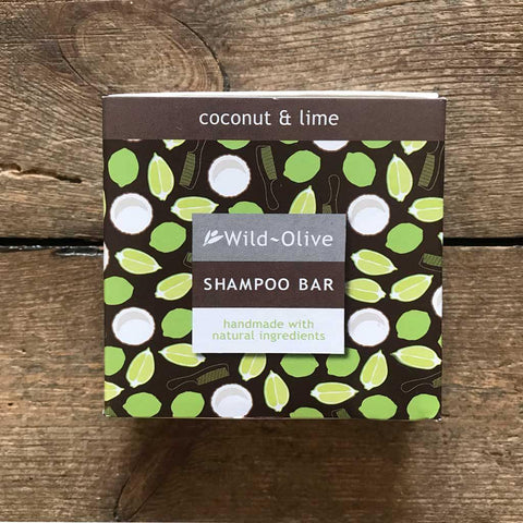 Coconut & Lime Shampoo Bar - insideout-home