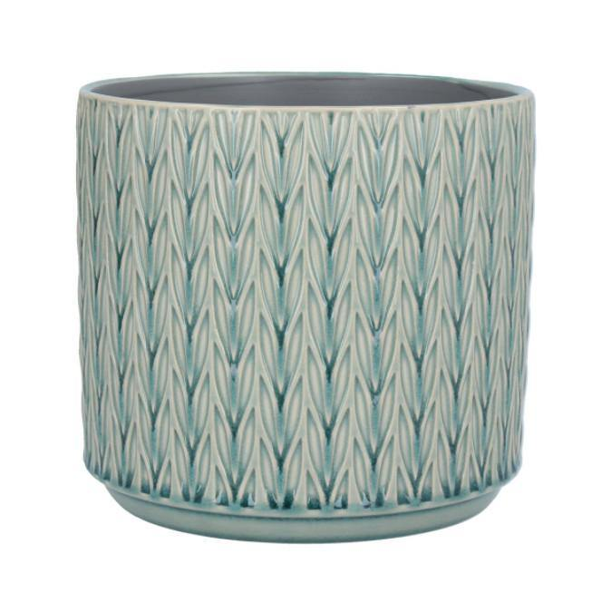 Blue Staghorn Planter Large, Lawn & Garden by Insideout