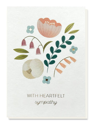 Heartfelt Sympathy Card - insideout-home