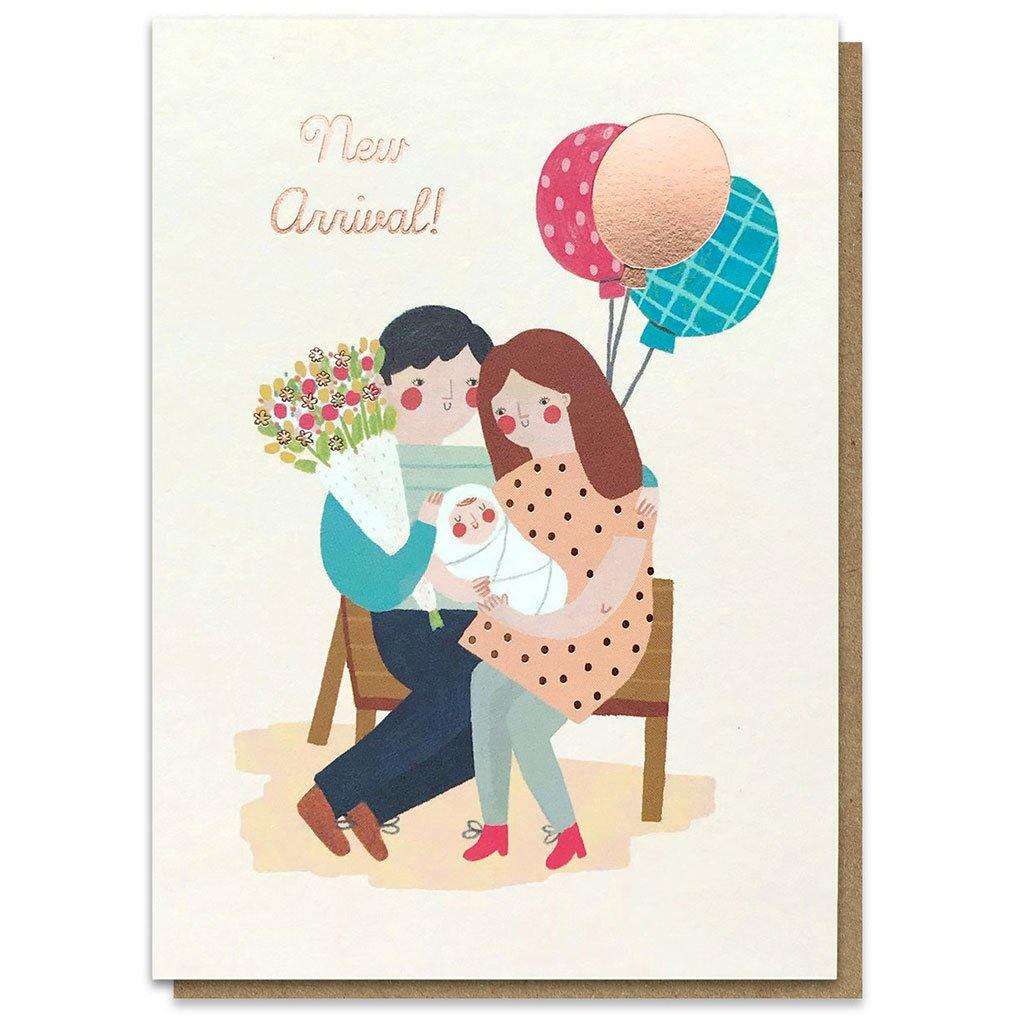 New Arrival Card, Gift Giving by Insideout