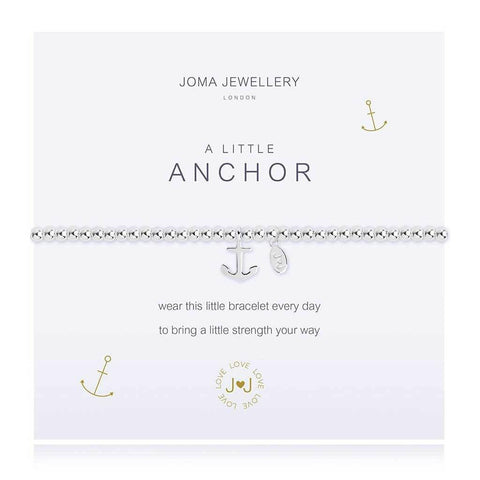 A Little Anchor Bracelet - insideout-home