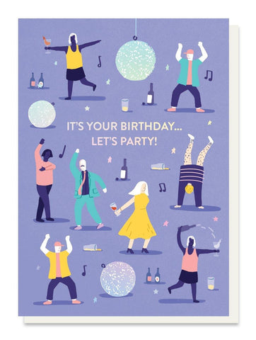Let's Party  Card - insideout-home