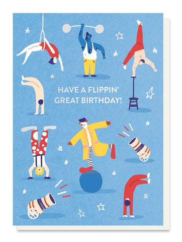 Flippin' Great Birthday Card - insideout-home