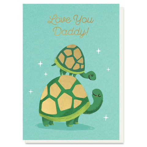 Love You Daddy Card - insideout-home