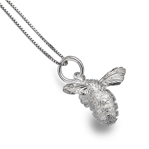 Sterling Silver Bee Necklace - insideout-home