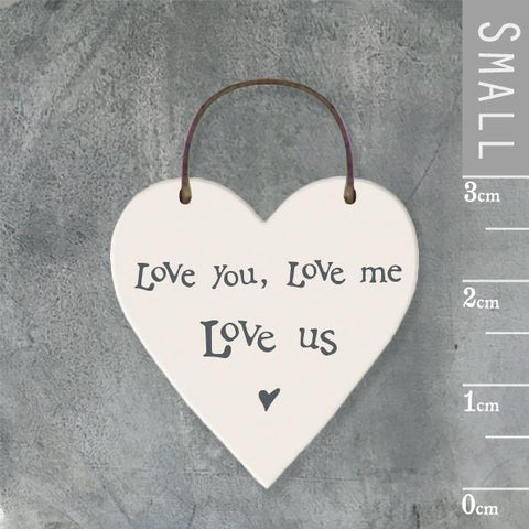 Love You, Love Me, Love Us Heart Tag - insideout-home