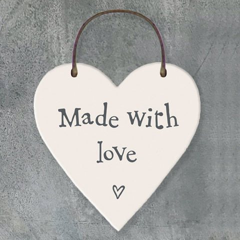 Made With Love Heart Tag - insideout-home