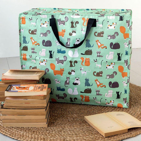 Nine Lives Jumbo Storage Bag - insideout-home