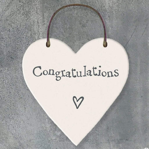 Congratulations Heart Tag - insideout-home