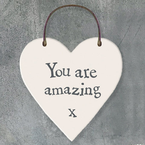 You Are Amazing Heart Tag - insideout-home