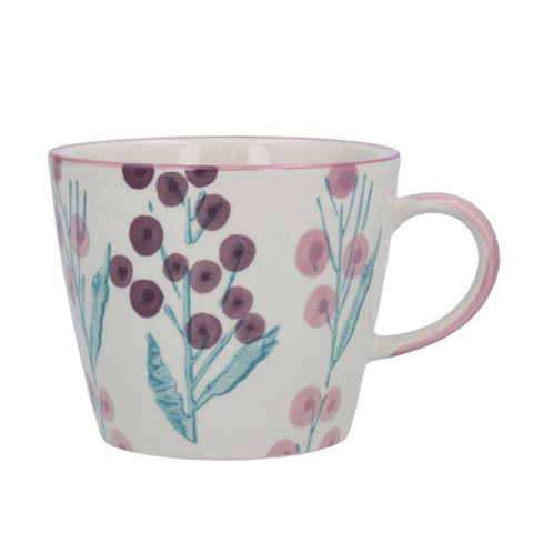 Purple Wattle Ceramic Mug - insideout-home