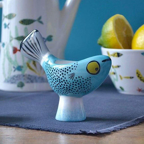 Blue Fish Egg Cup - insideout-home