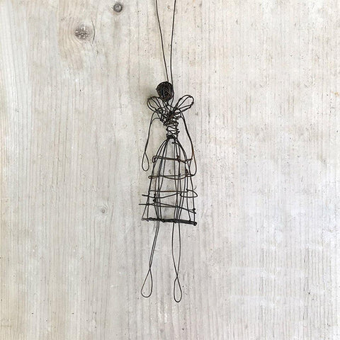 Woven Wire Angel Small - insideout-home