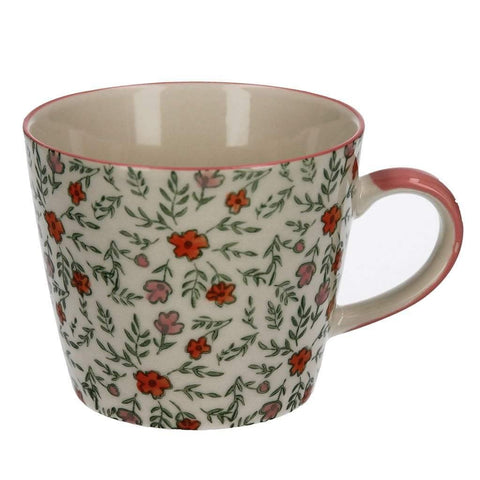 Ditsy Floral Ceramic Mug - insideout-home
