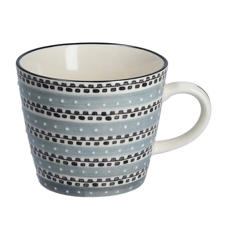 Grey Track Ceramic Mug - insideout-home