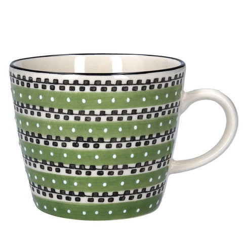Green Track Ceramic Mug - insideout-home