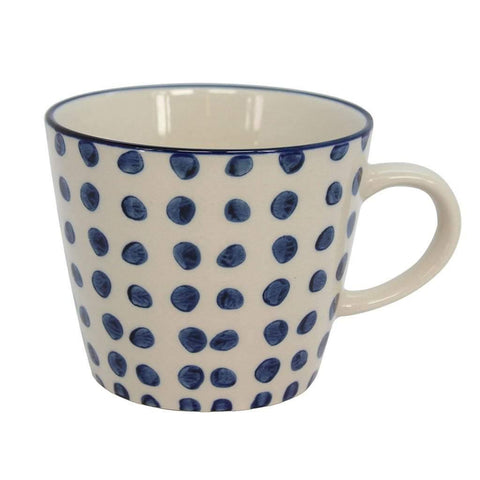 Blue Dots Mug - insideout-home