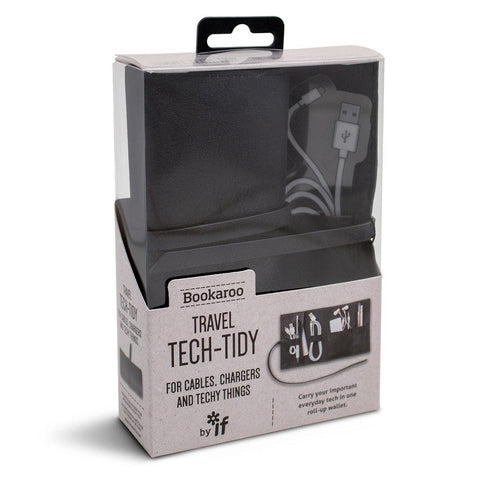 Bookaroo Travel Tech Tidy Black