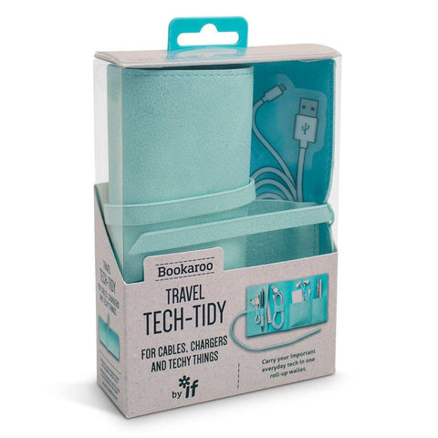 Bookaroo Travel Tech Tidy Mint