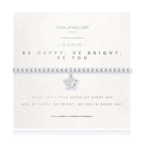 A Little Be Happy Be Bright Be You Bracelet - insideout-home