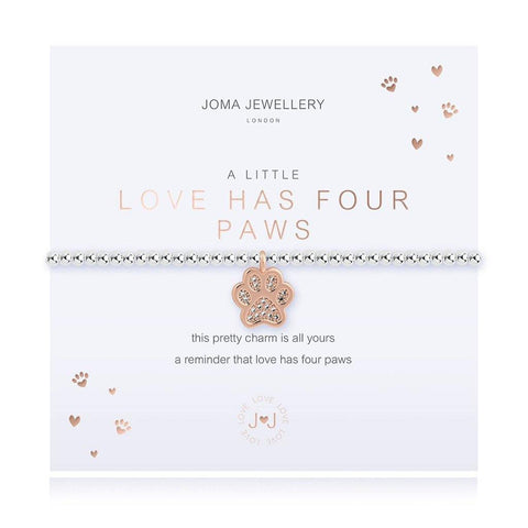 A Little Love Has Four Paws Bracelet - insideout-home