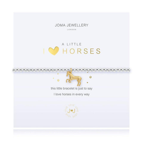 A Little I Love Horses Bracelet - insideout-home